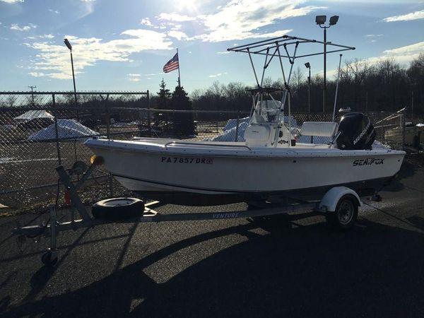 Used Sea Fox 176cc176cc Center Console Fishing Boat For Sale