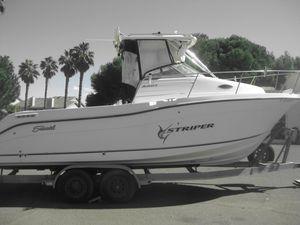 Used Seaswirl Striper Stripper Sports Fishing Boat For Sale