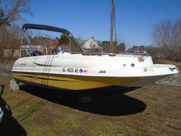 Used Starcraft Limited 1915 OBLimited 1915 OB Deck Boat For Sale