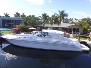 Used Sea Ray 580 Super Sun Sport Express Cruiser Boat For Sale