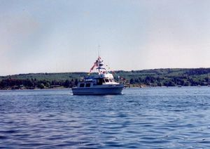 Used Camano Trawler Boat For Sale