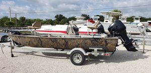 Used Lowe Roughneck 1860 Freshwater Fishing Boat For Sale