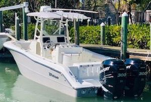 Used Triton 281 CC281 CC Saltwater Fishing Boat For Sale