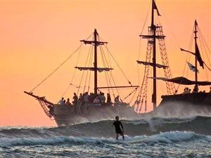 Used Custom Hawaii Pirate Ship Adventures Commercial Boat For Sale