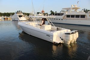 Used Intrepid 366 Repowered Cuddy Cabin Boat For Sale