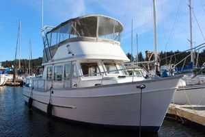 Used Universal Marine Tri-cabin 36 Trawler Boat For Sale