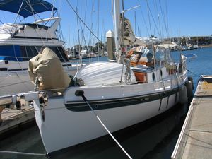 Used Sam L. Morse Bristol Channel Cutter Cruiser Sailboat For Sale
