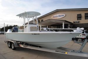 Used Sportsman Masters 247 Bay Boat Saltwater Fishing Boat For Sale