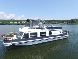Used Gibson 41 Sport House Boat For Sale