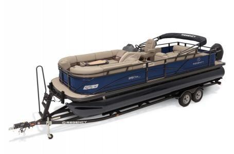 New Regency 250 DL3 w/ Mercury 300Hp Verado250 DL3 w/ Mercury 300Hp Verado Pontoon Boat For Sale