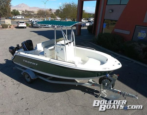 Used Trophy 1903 CC1903 CC Freshwater Fishing Boat For Sale