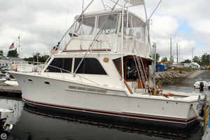 Used Jersey 40 Dawn Sports Fishing Boat For Sale