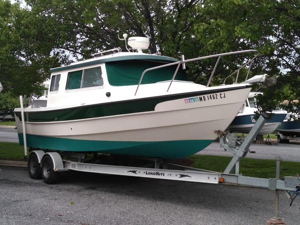 Used C-Dory 25 Cruiser Pilothouse Boat For Sale