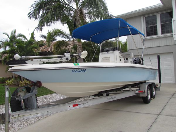 Used Shearwater 23 LTZ Center Console Fishing Boat For Sale