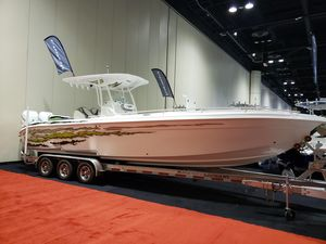 New Glasstream 328 SCX High Performance Boat For Sale