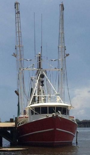 Used Master Steel Freezer Trawler Commercial Boat For Sale