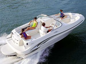 Used Sea Ray 210 Sundeck Sports Cruiser Boat For Sale