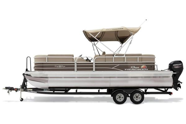 New Sun Tracker Party Barge 22 DLXParty Barge 22 DLX Pontoon Boat For Sale