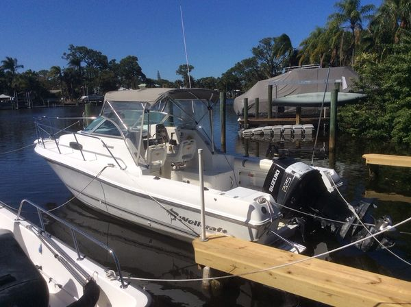Used Wellcraft 24 Walkaround24 Walkaround Saltwater Fishing Boat For Sale