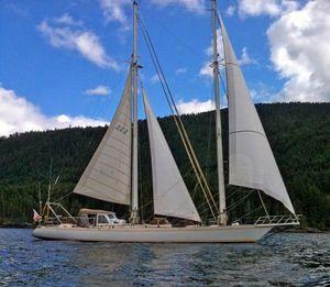 Used Custom Madlener Staysail Schooner Cruiser Sailboat For Sale