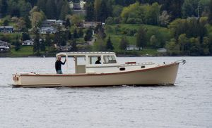 Used Custom Ralph Stanley 36 Lobster Boat Commercial Boat For Sale