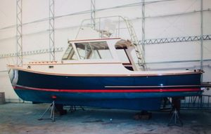 Used Wasque Downeast Fishing Boat For Sale