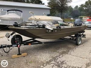 Used G3 1860 Aluminum Fishing Boat For Sale
