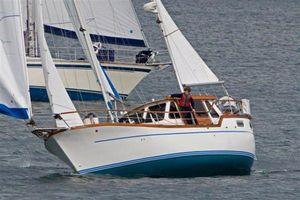 Used Nauticat Motorsailor Fin Keel Pilothouse Sailboat For Sale