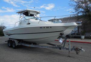 Used Caravelle 230 Walk Around Stern Drive230 Walk Around Stern Drive Walkaround Fishing Boat For Sale