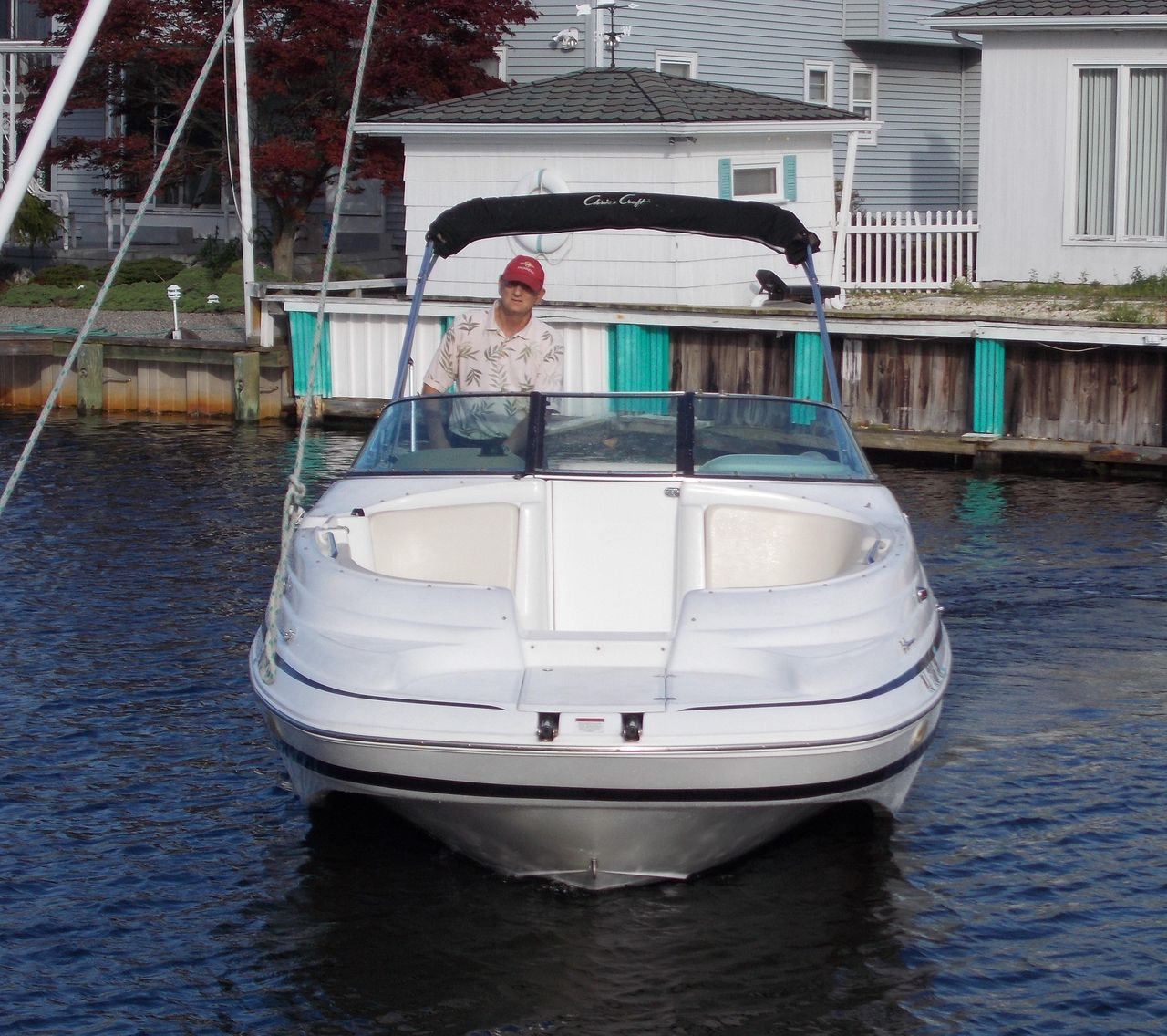 2001 Used Chris-Craft 262 Sport Deck Bowrider Boat For Sale