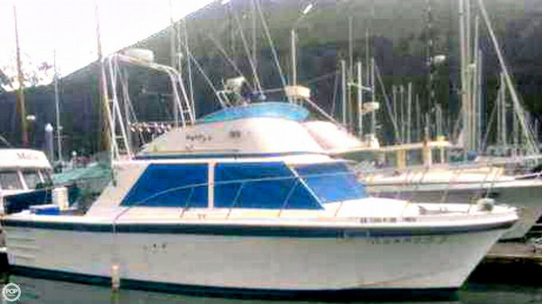 Used Uniflite 35 Sports Fishing Boat For Sale