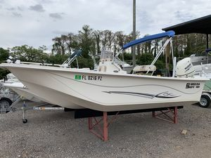 Used Carolina Skiff DLV 198DLV 198 Center Console Fishing Boat For Sale