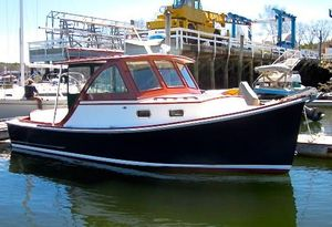 Used Webbers Cove Hardtop Cruiser Downeast Fishing Boat For Sale
