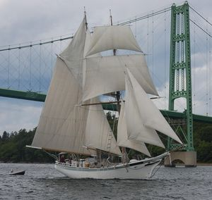 Used Traditional Murray Peterson Brigantine Schooner Sailboat For Sale
