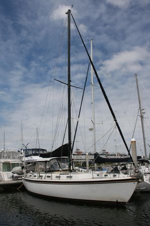 Used Nautical Development Offshore 40 Center Cockpit Sailboat For Sale