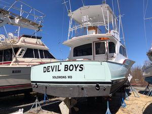 Used Buddy Davis 46 Convertible Fishing Boat For Sale