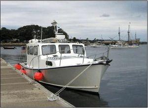 Used Custom Five Islands Downeast Cruiser Downeast Fishing Boat For Sale