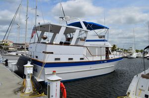 Used Marine Trader Sundeck Trawler Boat For Sale