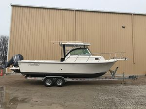 Used Parker 2510 XL Walkaround Center Console Fishing Boat For Sale