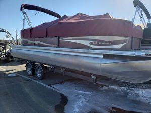 Used Premier Pontoon Boat For Sale