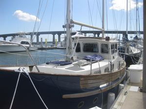 Used Fisher Pilothouse 30 Motorsailer Sailboat For Sale