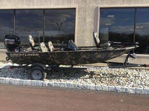 New Crestliner Bass Boat For Sale