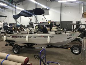 Used Crestliner Kodiak 16Kodiak 16 Aluminum Fishing Boat For Sale