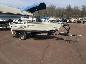 Used Crestliner Kodiak 14Kodiak 14 Aluminum Fishing Boat For Sale