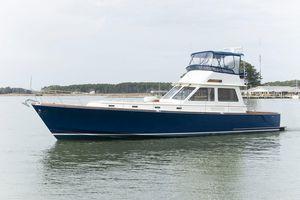 Used Alden 56 Downeast Flybridge Sedan Motor Yacht For Sale
