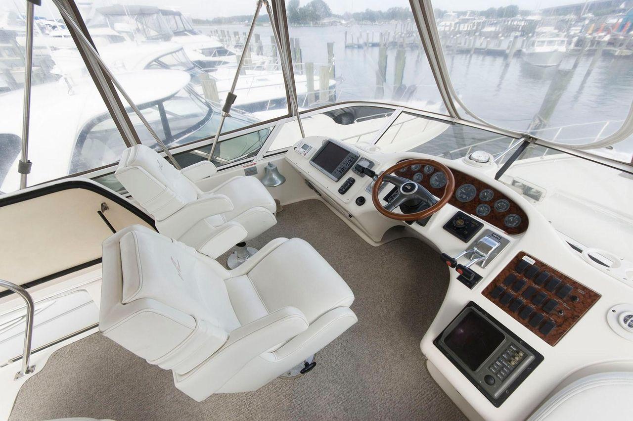 1996 Used Sea Ray 400 Sedan Bridge Motor Yacht For Sale