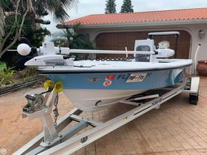 Used Maverick Master Angler 18 Flats Fishing Boat For Sale