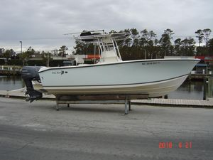 Used Sea King 230 CC Center Console Fishing Boat For Sale
