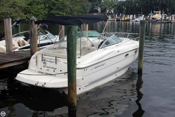 Used Monterey 250 CS Express Cruiser Boat For Sale