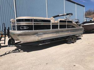 Used Suncatcher 326ss Pontoon Boat For Sale